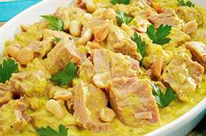 Atún al curry
