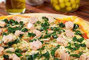 Pizza a las hierbas Van Camp's