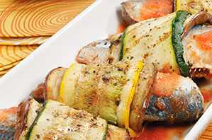 Rollo de sardinas