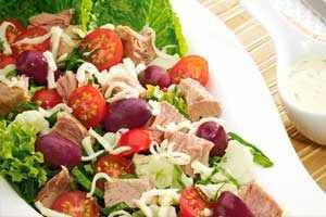 Acompaña tus comidas con una deliciosa ensalada de atún