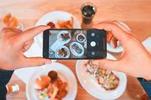 Diviértete cocinando y toma fotos