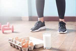 El huevo, una alternativa para comer después de entrenar