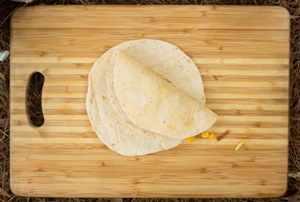 Tortillas con Atún y vegetales