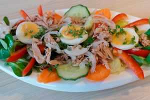 Recetas de ensaladas con el atún como protagonista