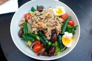 Recetas de ensaladas con el atún como complemento