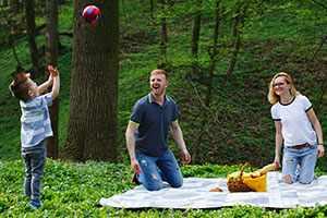 El pícnic: Cocina en familia y al aire libre