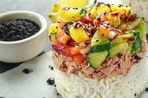 Prepara un sencillo y delicioso tartar de atún con esta receta
