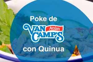 Poke de Atún Van Camp's con quinoa