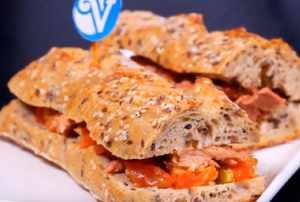 Sandwich Colombiano con Atún Van Camp's
