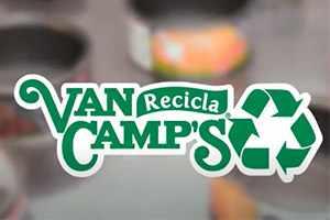 Así reciclas tus latas de Van Camp's