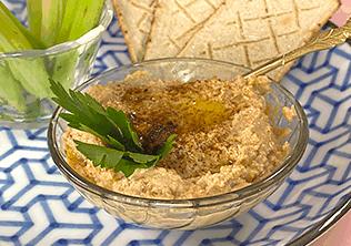 Hummus con Atún Van Camp's en Aceite