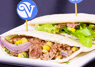 Sandwich Peruano con Atún Van Camp's