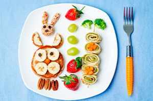 Comidas sanas para tus niños